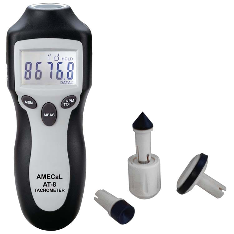 AT-8 High Accuracy Tachometer Amecal