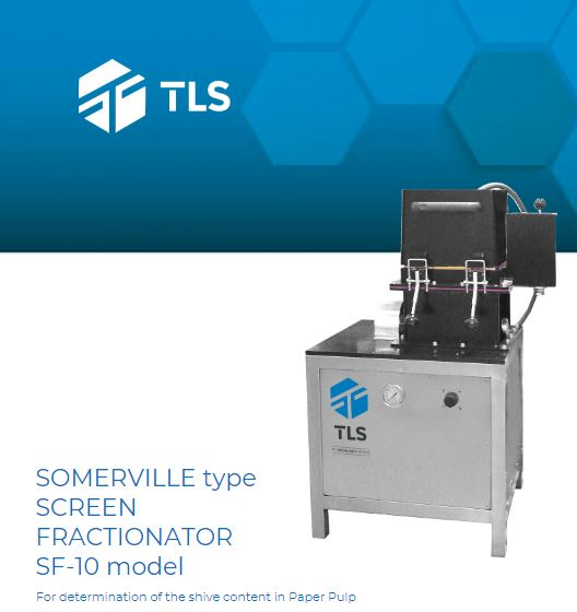 SOMERVILLE Fractionator Screen (type)