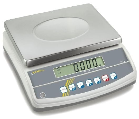 Bench Scale Kern GAB-N Checkweighing and portioning scale