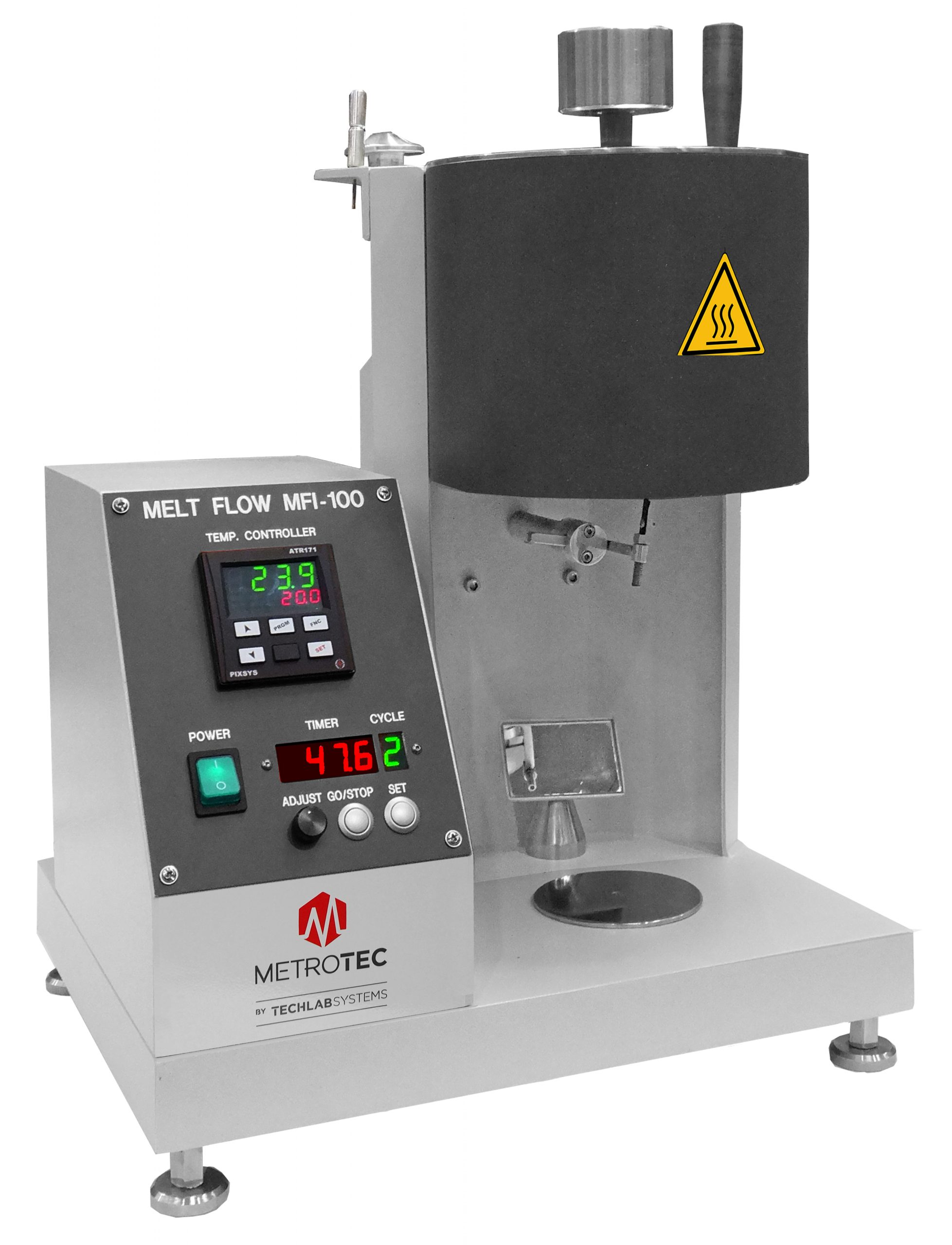 Melt Flow Indexer for Thermoplastics MFI-100