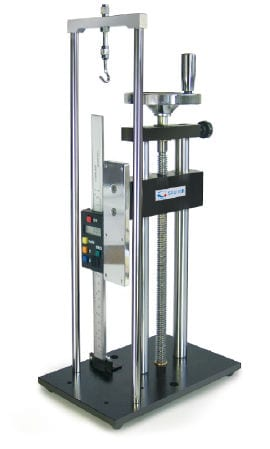 Manual Force Gauge Stand with length measurement TVL