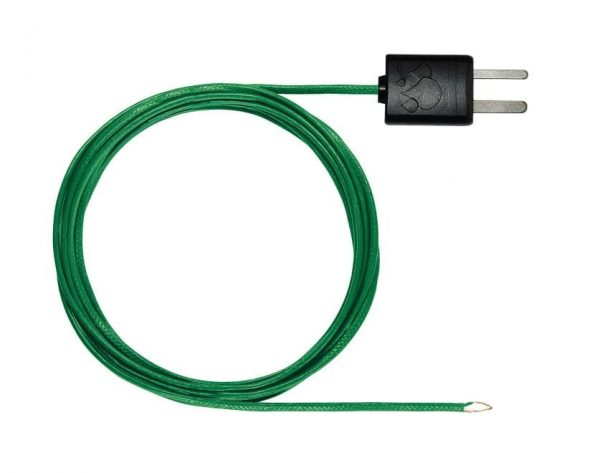 Flexible thermoelectric couple - with TC type K temperature sensor (PTFE)