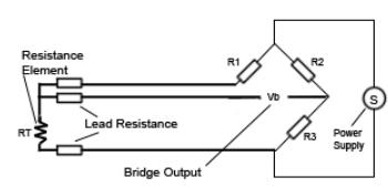 Three wire RTD connection - Screenshot